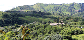 Intérieur du pays de la République Dominicaine