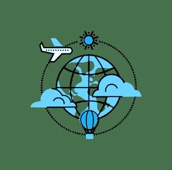 Pack création d'itinéraire de voyage